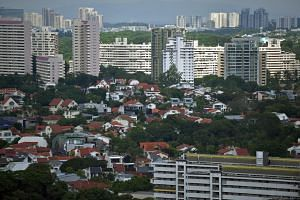Private residential property prices edged up 0.5 per cent in the July to September quarter, a sharp fall from the 3.4 per cent price rise in the second quarter.