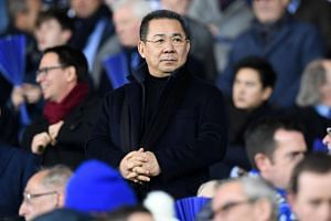 File photo of Leicester City's Thai chairman Vichai Srivaddhanaprabha during the 2016 UEFA Champions League group G football match between Leicester City and Club Brugge at the King Power Stadium in Leicester.
