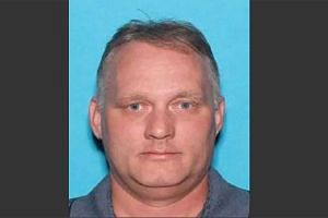 An image being circulated by the media of Pittsburgh synagogue shooting suspect Robert Bowers.