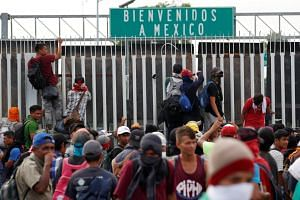 Many see the caravan as their best chance of migrating safely to the United States, given the dangers of crossing Mexico.