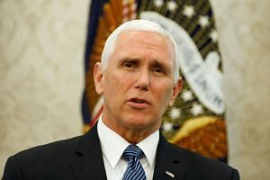 Pence (above) is a devout Christian and a hero of evangelicals.