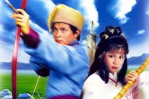 TVB's 1983 rendition of The Legend of The Condor Heroes, starring Felix Wong and Barbara Yung.