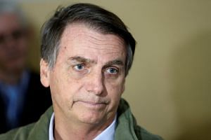 Brazil president-elect Jair Bolsonaro (pictured) said he would like anti-graft judge Sergio Moro to become his justice minister and, eventually, take a seat on the Supreme Court when an opening arises.