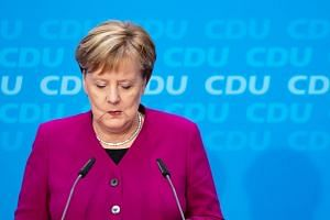 The decision by German leader Angela Merkel to step down as chairman of her Christian Democratic Union party caught markets, and even her closest allies by surprise.