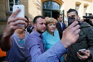 German leader Angela Merkel had enjoyed the support of Germans as a guarantor of stability and prosperity, having steered the country through financial crises.