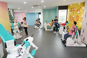 Participants of the Gym Tonic programme at the Bishan Community Centre will now be able to enjoy a new operational centre at the community club.