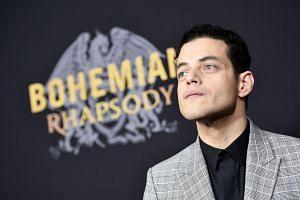 Rami Malek at the New York premiere of Bohemian Rhapsody on Oct 30, 2018.