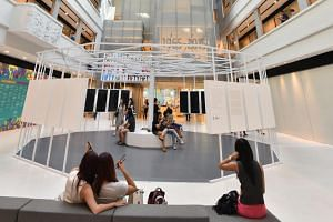 The National Design Centre, run by the DesignSingapore Council, in Middle Road.