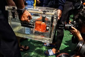 The black box of Lion Air flight JT610 has been recovered, on Nov 1, 2018.