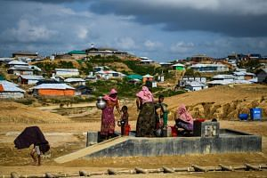 Almost all Rohingya lack citizenship, and many of their villages were burned down during the military operations.