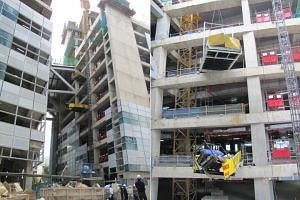 A construction foreman was sentenced to 25 weeks' jail over his negligence in a Fusionopolis worksite accident in 2014, which resulted in the death of two workers.