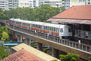 """Transport Minister Khaw Boon Wan said that the 660,000 train-km achieved was """"two-thirds"""" to his target of 1,000,000 train-km between delays by 2020."""