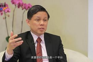 Trade and Industry Minister Chan Chun Sing will lead a delegation to Shanghai in conjunction with the trade fair.