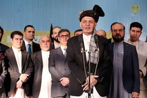 Afghan President Ashraf Ghani is expected to present himself to war-weary voters as the candidate who can end the 17-year conflict.