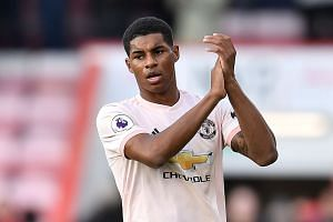 Marcus Rashford's (pictured) close-range finish came after Anthony Martial's effort had cancelled out Callum Wilson's early opener for Bournemouth at Dean Court.