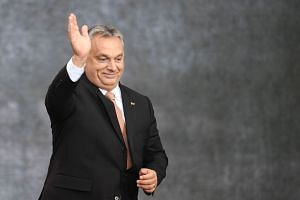 The group - a diverse alliance of conservatives, Christian democrats and populist authoritarians like Hungary's Viktor Orban - will first have to decide who will be their public face.