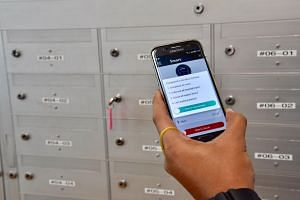 From next January, all 1,000 SingPost postmen will use a mobile app to aid delivery tracking and e-signing for registered mail.