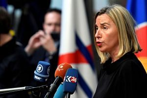 European Union foreign policy chief Federica Mogherini in Brussels on Oct 18, 2018. She vowed to maintain