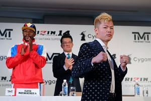 Like Floyd Mayweather Jr, Tenshin Nasukawa has never been beaten, boasting a 27-0 record as a professional kickboxer with 20 wins by knockout.