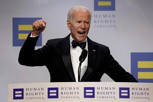 Former US vice-president Joe Biden is among the candidates jockeying to line up donors and evaluate their shot at the Democratic Party's presidential nomination.