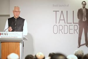 A note from founding Prime Minister Lee Kuan Yew and the urging of five friends eventually persuaded Emeritus Senior Minister Goh Chok Tong, who had decided not to write his memoir, to agree to an authorised biography.