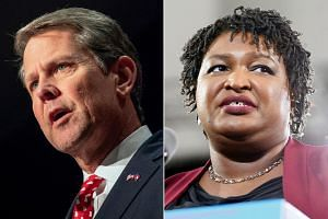 Republican Brian Kemp's campaign said that he had won Georgia's governor's race, but Democratic candidate Stacey Abrams vowed not to concede until all ballots were counted.