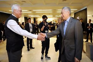 PM Lee Hsien Loong and Emeritus Senior Minister Goh Chok Tong became closer when Mr Goh took over as defence minister in 1982 and Mr Lee was in the General Staff of the armed forces.