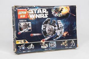 A small Tie Fighter from the Star Wars Lego franchise costs US$2, if you are willing to overlook a slight flaw in the product's
