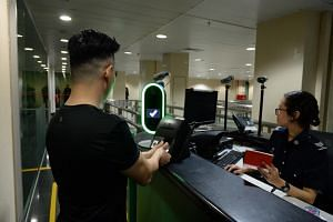 The BioScreen-Multi Modal Biometric Screening System has been trialled in stages at immigration counters, including at Woodlands Checkpoint.