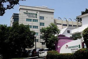 Thomson Medical said that it will distribute its entire holdings of RSP Holdings shares to entitled shareholders in the ratio of one RSP Holdings share for every existing Thomson Medical share held.