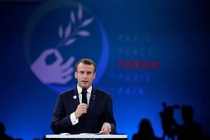 French President Emmanuel Macron is hoping to revive efforts to regulate cyber space after the last round of United Nations negotiations failed in 2017.