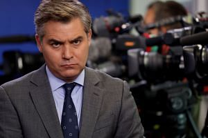 White House correspondent Jim Acosta's (above) questions and reporting have been a frequent target of criticism by President Donald Trump.
