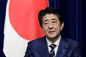 Support for Japan Prime Minister Shinzo Abe's foreign policy is now at its lowest at 48 per cent, according to the poll, from a peak of 62 per cent in 2015.