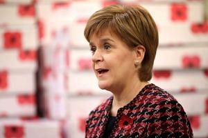 Nicola Sturgeon (above) wants Scotland to be allowed to remain in the single market and the customs union.