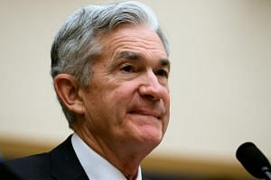 Federal Reserve chairman Jerome Powell listed potential challenges including slowing growth abroad, fading fiscal stimulus and the lagged effect on the economy of the Fed's eight rate increases since late 2015.