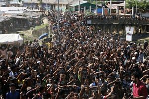 Bangladesh had begun preparations to repatriate an initial batch of 2,200 Rohingya to Myanmar on Nov 15, 2018, but by late afternoon no refugees had been moved back across the border.