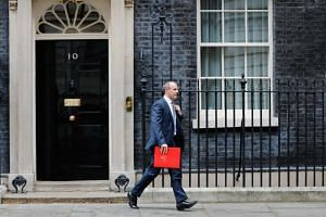 Mr Dominic Raab is the latest British minister to resign from Prime Minister Theresa May's government.