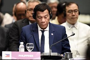 "Philippine President Rodrigo Duterte said should war erupt in the South China Sea, ""my country will be the first to suffer""."
