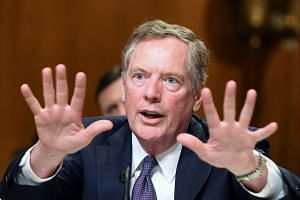 Lighthizer testifying before a Senate subcommittee hearing in Washington in July 2018.