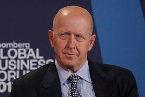 """Goldman Sachs CEO David Solomon said in a voicemail left with employees that """"any speculation in the press or elsewhere"""" on outcomes for the firm """"is completely unfounded""""."""