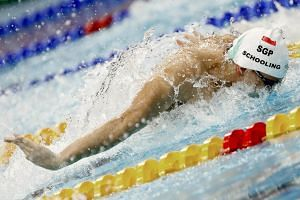 Joseph Schooling's timing of 22.76 sec at the Fina Swimming World Cup 2018 meant he qualified for the finals on Nov 17, 2018.