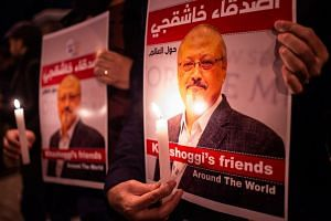 The legal status of Ms H. Atr's marriage to Saudi journalist Jamal Khashoggi is unclear, however - neither appears to have obtained a marriage licence.