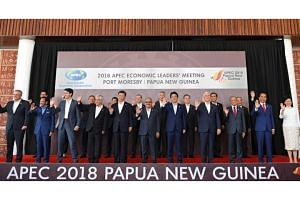 Wrapping up a two-day summit here, leaders will strive to craft a statement on the uncontroversial parts of their agenda - pushing for deeper regional economic integration.