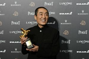 Director Zhang Yimou won the Best Director award for his wuxia film Shadow at the Golden Horse Awards.