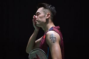China's Lin Dan is currently ranked 13th, below compatriots Shi Yuqi and Chen Long.