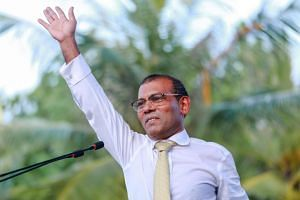 Mohamed Nasheed, a former president and now an adviser to Solih, said Parliament would not pass the law changes required for the zero tariffs agreement to come into force.