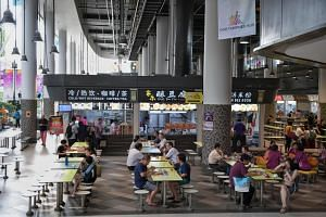 There had been complaints from some hawkers at the Our Tampines Hub Hawker Centre in recent months of having to operate in the wee hours despite low footfall.