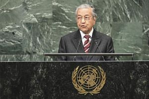 Malaysian Prime Minister Mahathir bin Mohamad had said in September that his new government would ratify all remaining United Nations human rights conventions as part of its international commitments.