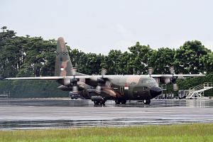 The SAF will deploy an RSAF C-130 transport aircraft to Sulawesi for a week, on the request of the Indonesian government to aid in efforts by the Indonesian Armed Forces.