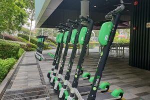 Lime's green and black PMDs cost $1 to unlock, and 20 cents for every minute they are used. A local operations team regularly charges its scooters, and redeploys them to high-use locations.